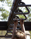 Monkey bars Stock Images