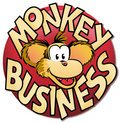 Monkey Business Royalty Free Stock Image