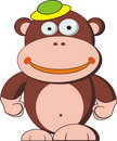 Monkey cartoon Stock Images