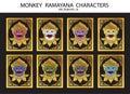 Monkey Ramayana characters
