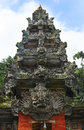Monkey temple in bali monley forest Stock Images
