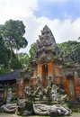 Monkey temple in bali monley forest Royalty Free Stock Photography