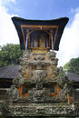 Monkey temple in bali monley forest Royalty Free Stock Images