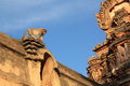 Monkey Temple (Hanuman Temple) in Hampi, India. Royalty Free Stock Images