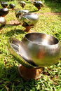 Monks Alms Bowl Stock Image