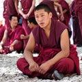 Monks debating in Sera Monastery, Tibet