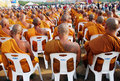 Monks in Thailand Royalty Free Stock Photos