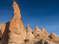 Monks valley in cappadocia turkey unusual rock formations near goreme Stock Image