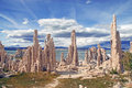 Mono lake california eastern sierra near mammoth Stock Photos