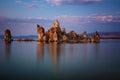 Mono Lake sunset Royalty Free Stock Photo