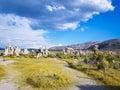 Mono lake tufa towers formations in california Stock Photography