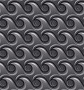 Monochromatic decorative abstract waterwaves