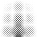 Monochromatic geometric pattern - abstract background design from curved shapes