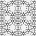 Monochromatic pattern on Islamic motif Royalty Free Stock Images