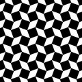 Monochrome abstract seamless square pattern - vector background graphic design