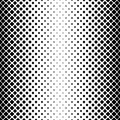 Monochrome abstract square pattern background - black and white geometrical vector design from diagonal rounded squares
