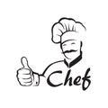 Monochrome chef design