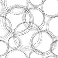 Monochrome doodle pattern vector abstract Stock Photos