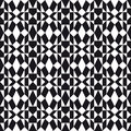 Monochrome folk pattern seamless inspired by scandinavian sweaters Royalty Free Stock Photos