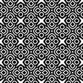 Monochrome pattern_2 Royalty Free Stock Image