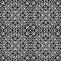 Monochrome pattern_4 Royalty Free Stock Photography