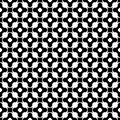 Monochrome seamless pattern, ornament texture
