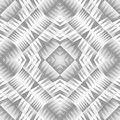 Monochrome Tribal Seamless Pattern. Aztec Style Abstract Geometric Art Print. Royalty Free Stock Photo