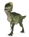 Monolophosaurus in search walk Stock Photo