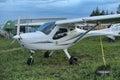Monoplane Royalty Free Stock Photo