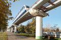 Monorail Royalty Free Stock Photos