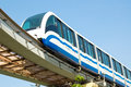 Monorail Royalty Free Stock Photo