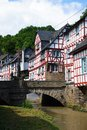 Monreal most beautiful town in rhineland palatinate is a the valley of the elz and is one of the village Stock Photo