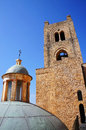 The Monreale Cathedral in Sicily Stock Images