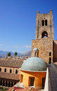 The Monreale Cathedral in Sicily Royalty Free Stock Photography