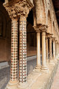 Monreale Church Columns Sicily Italy Royalty Free Stock Image