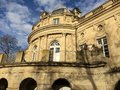 Monrepos schloss old in germany Royalty Free Stock Images