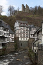 Monschau - historic city in the west of Germany Royalty Free Stock Images