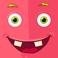 Monster avatar cartoon character funny vector eps Royalty Free Stock Photography