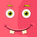 Monster avatar cartoon character funny vector eps Royalty Free Stock Image