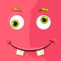Monster avatar cartoon character funny vector eps Royalty Free Stock Photos