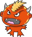 Monster Devil Vector Illustration Royalty Free Stock Image