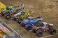 Monster Jam Trucks Royalty Free Stock Photo