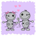 Monster love Royalty Free Stock Photo