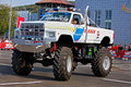Monster Truck Showdown 01 Royalty Free Stock Image