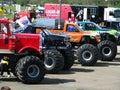 Monster Trucks Royalty Free Stock Photo