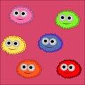 Monsters,bacteria, viruses,