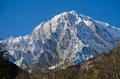 Mont blanc the aosta valley italy Royalty Free Stock Image