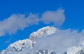 Mont blanc the aosta valley italy Stock Photography