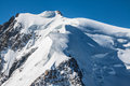 Mont Blanc, Mont Blanc Massif, Chamonix, Alps, France Royalty Free Stock Photo