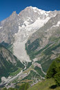 Mont Blanc - vertical Stock Images